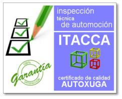 Certificado Calidad Coches ITACCA