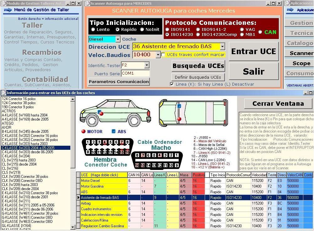 Diagnosis modulos electronicos coches