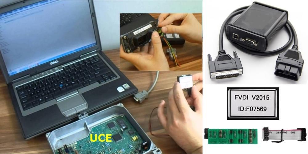 clonar, reprogramar y manipular UCEs coches