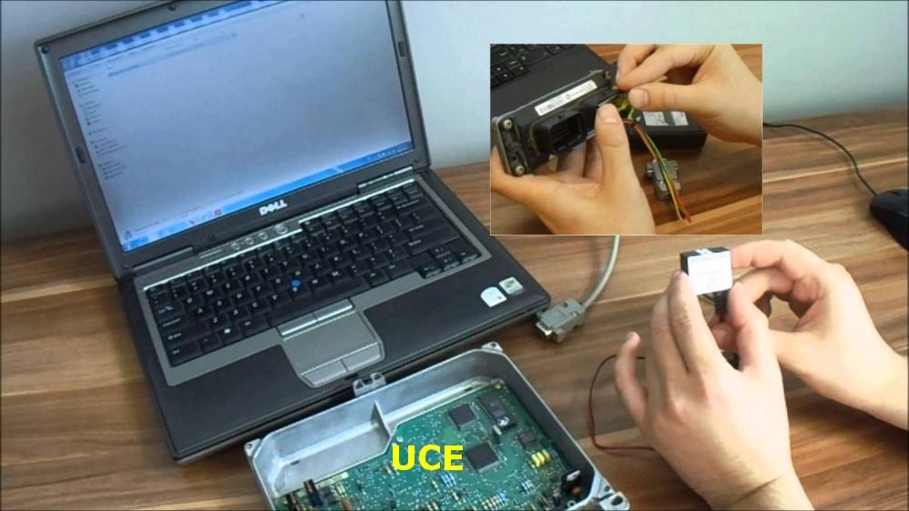 Circuito para modificar memoria inmovilizadores coches