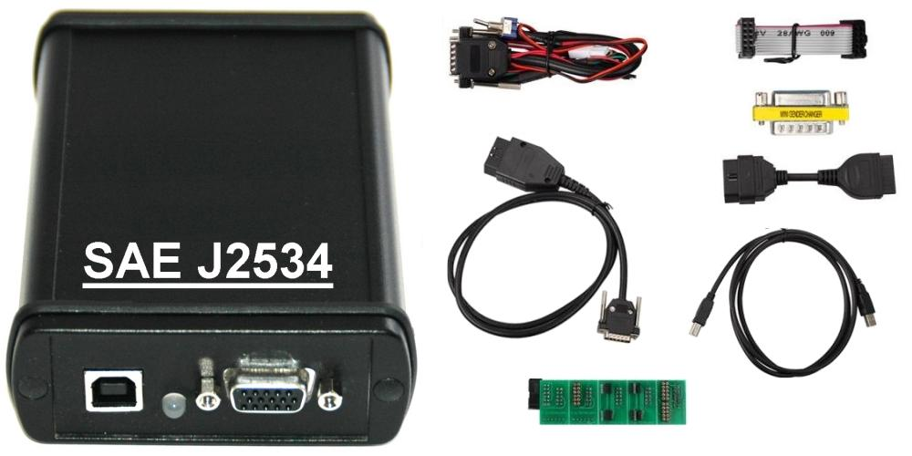 Interface J2534 conocido como Pass-thru