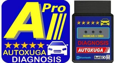 Adaptador y Apps diagnosis coches
